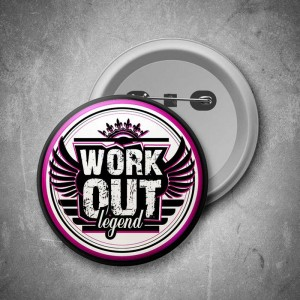 Placka Workout Legend (pink)