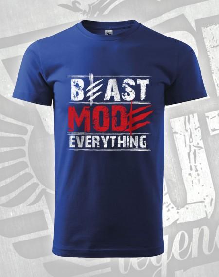 triko Beast Mode Everything - modrá