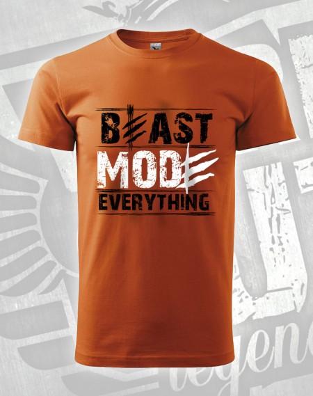 triko Beast Mode Everything - oranžová