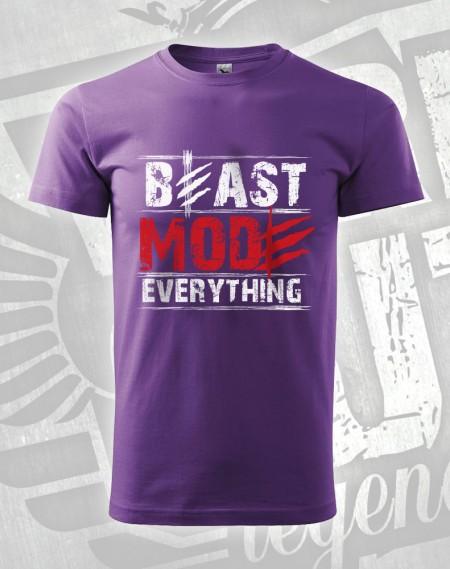 triko Beast Mode Everything - fialová
