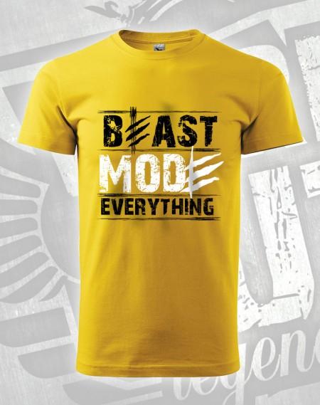 triko Beast Mode Everything - žlutá