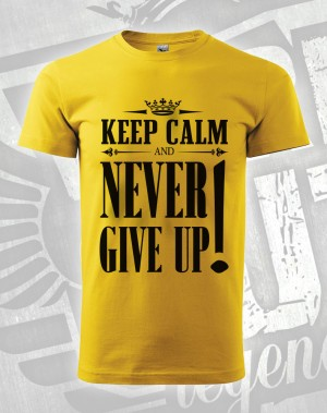 Triko Never Give Up