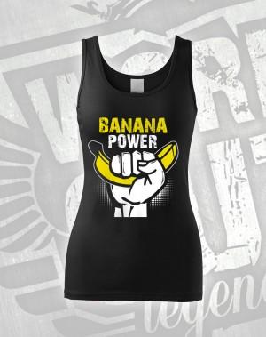 Tílko Banana Power - černá