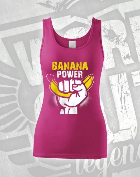 Tílko Banana Power - růžová
