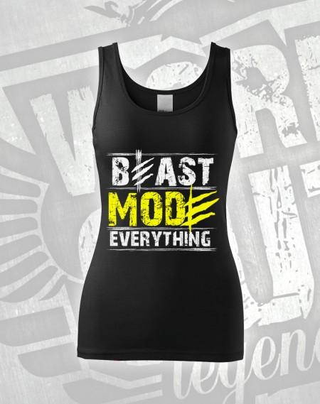 Tílko Beast Everything - černá