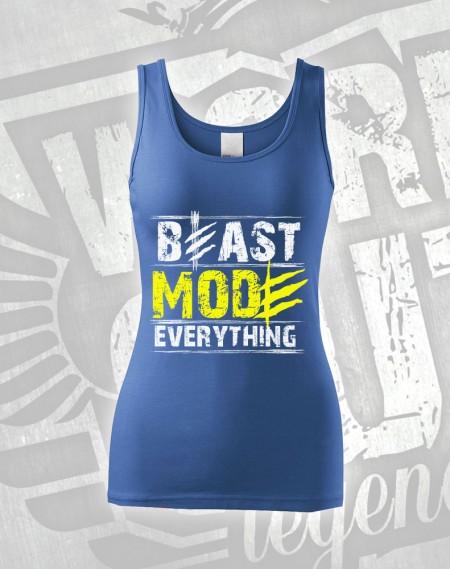 Tílko Beast Everything - modrá
