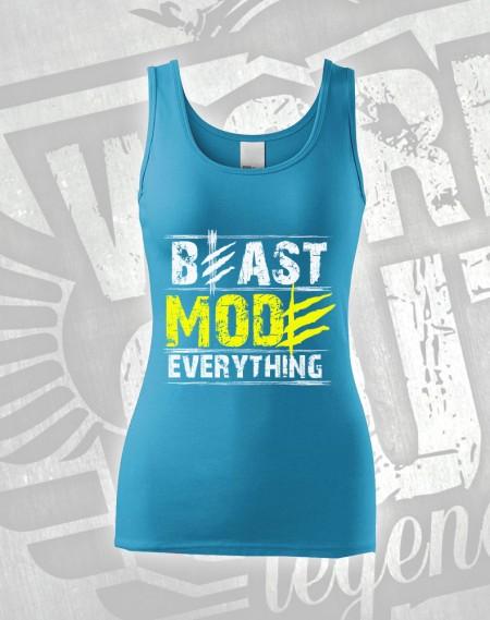 Tílko Beast Everything - azurová