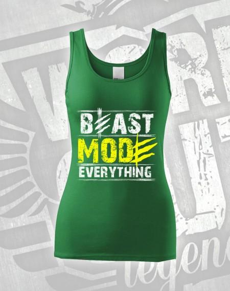 Tílko Beast Everything - zelená