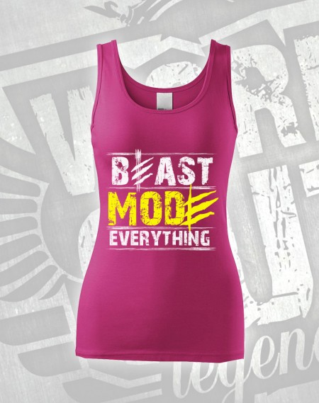 Tílko Beast Everything - růžová