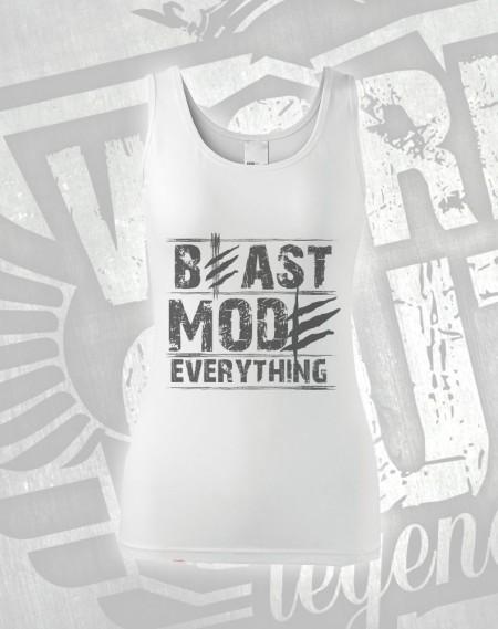 Tílko Beast Everything - bílá
