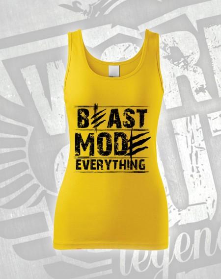Tílko Beast Everything - žlutá