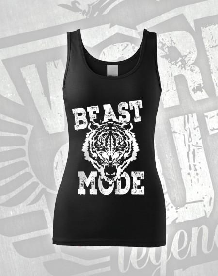Tílko Beast Mode Tiger - černá