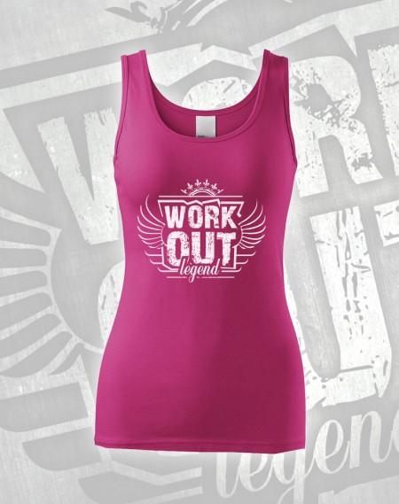 Tílko Workout Legend - růžová