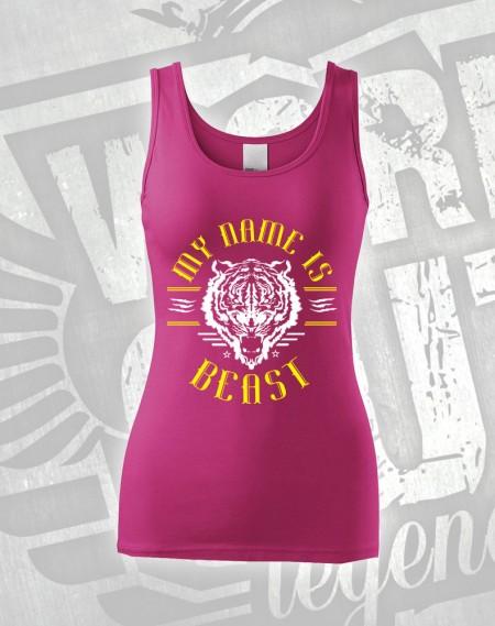 Tílko My Name is Beast - růžová
