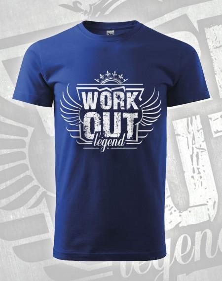 Triko Workout Legend - modrá