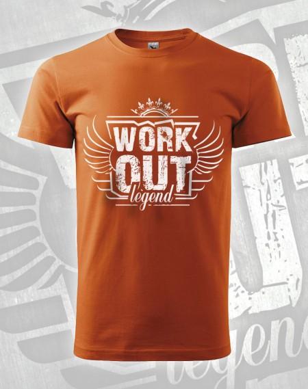 Triko Workout Legend - oranžová