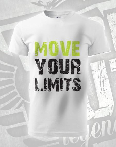 Triko Move your Limits - bílá