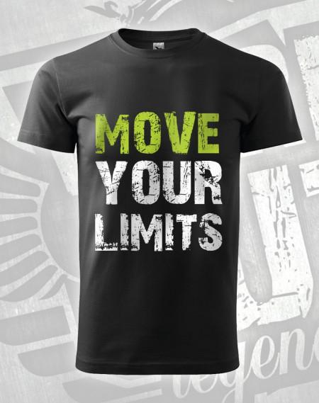 Triko Move your Limits - černá