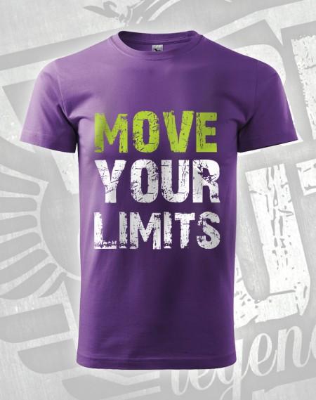 Triko Move your Limits - fialová
