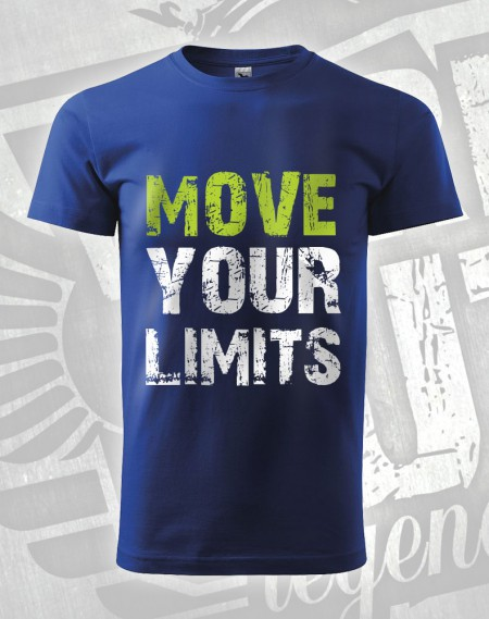 Triko Move your Limits - modrá