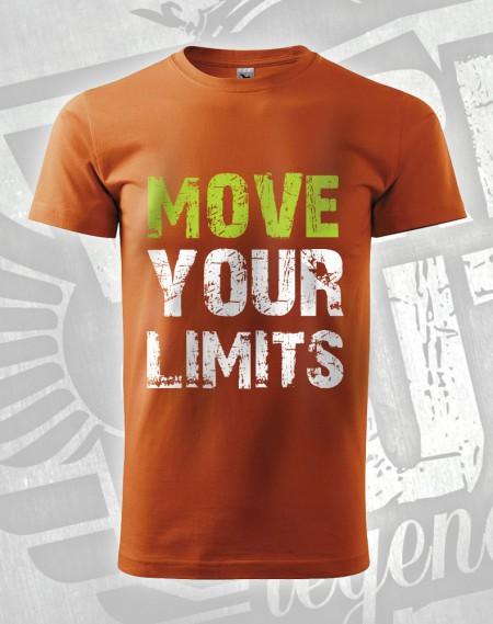 Triko Move your Limits - oranžová