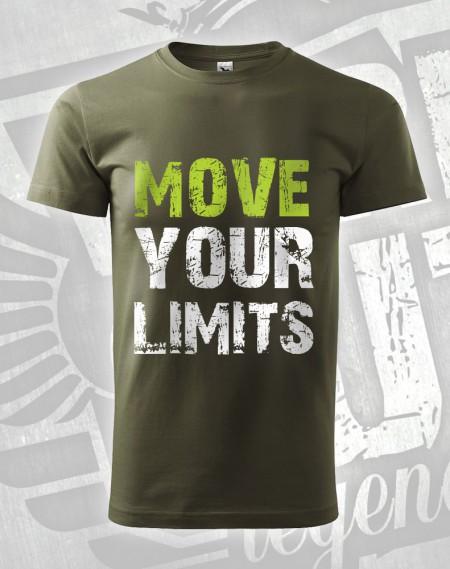 Triko Move your Limits - vojenská